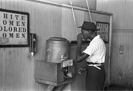 racism- water fountain