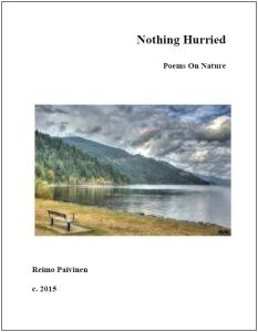Nothing Hurried- Title Page