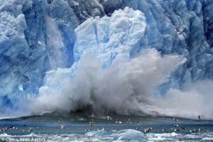Falling Glacier