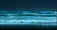 the rolling ocean
